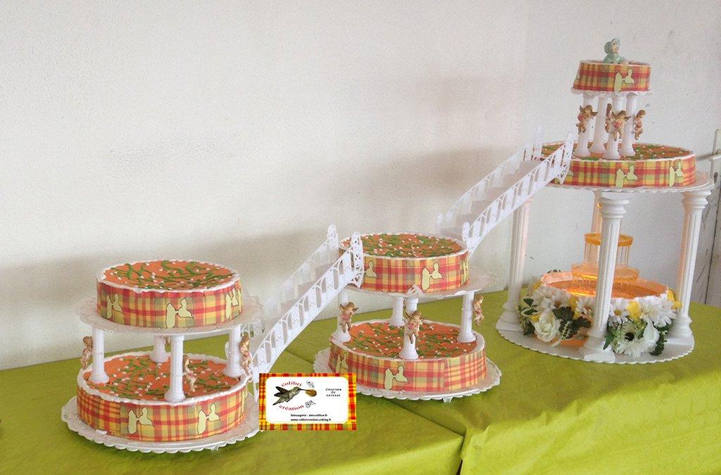Gateaux de mariage antillais